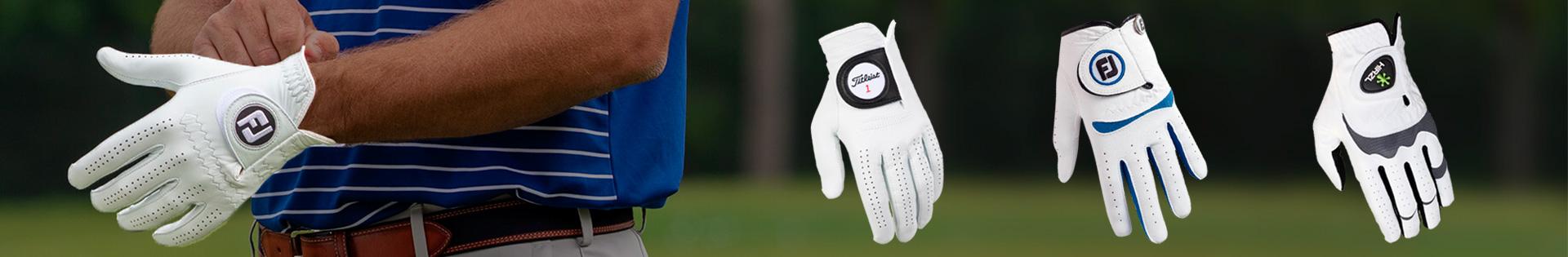 Golfhandsker til herre
