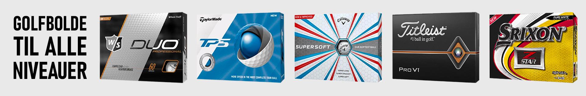 Nye golfbolde