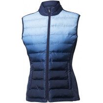 Backtee Dip Dye Quilt Dame Vest