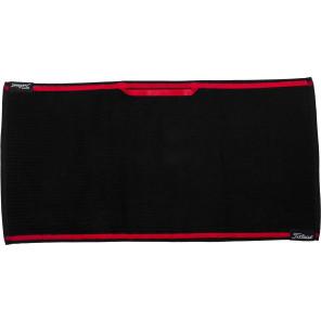 Titleist Players Black/Red Håndklæde